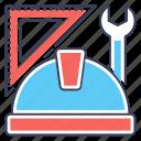 civil engineering, engineering tools, geometry tool, mechanical engineering, technical engineering icon