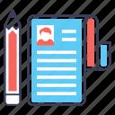 learner biodata, student biodata, student forum, student profile, student resume icon