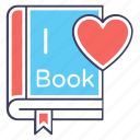 educational book, favourite book, journal, novel, storybook icon