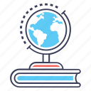 earth science, geography, geological, geology, history of earth icon
