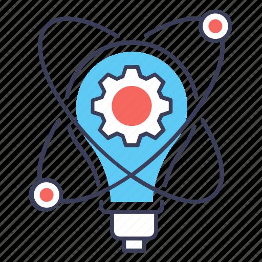 creative idea, idea creation, idea generation, innovative idea, light bulb, new idea icon