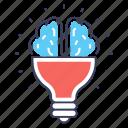 brain concept, creative concept, creative idea, creative mind, innovative idea, mind idea, thinking icon