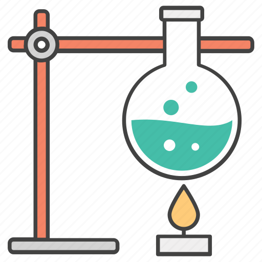 chemical experiment, chemical reaction, chemical test, lab apparatus, lab test icon