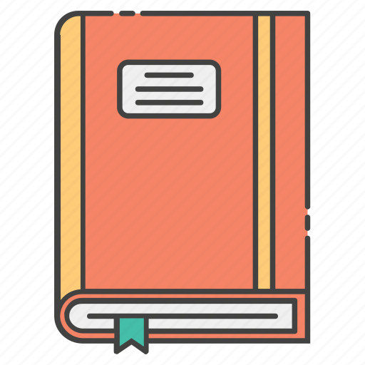 book, booklet, bookmark, education, knowledge, learning icon