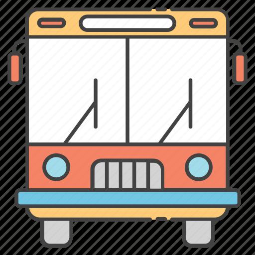 conveyance, school bus, transportation, travel, vehicle icon