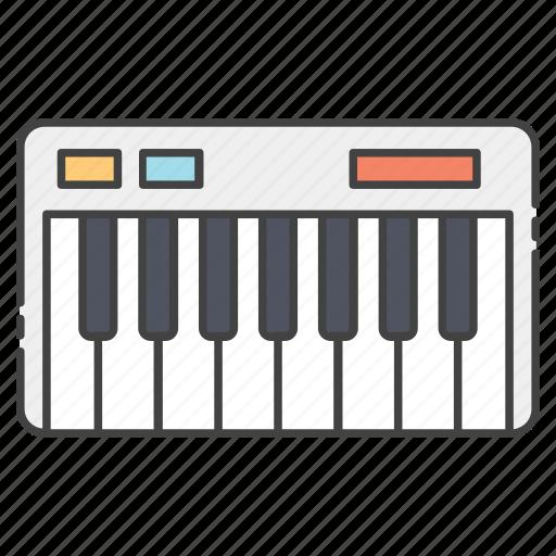 digital piano, keyboard piano, musical device, musical keyboard, piano icon