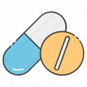 medication, medicine, pharmaceutical, pills, remedy icon