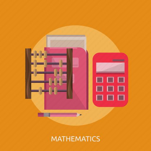 abacus, book, calculator, map, mathmatics, pencil icon