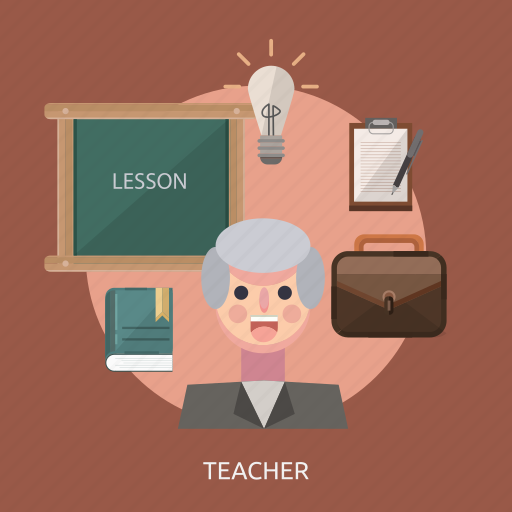 bag, book, energy, idea, journals, lesson, teacher icon