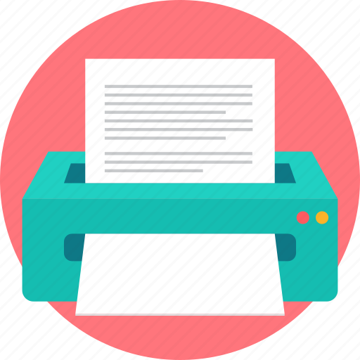 copier, copy, imprinter, paper, print, printed, printer icon