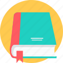 book, bookmark, hardback, library, manuscript, notebook, register icon