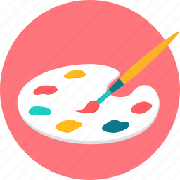 art, brush, color, drawing, finearts, paint, painting icon