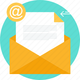 document, email, form, inbox, letter, mail, message icon