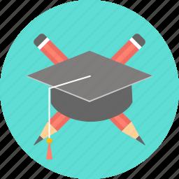 college, education, graduate, graduation, student, university icon