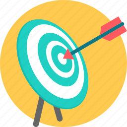 aim, bullseye, dartboard, focus, goal, target, targeting icon