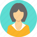 avatar, gesture, girl, student, teacher, user, woman icon