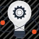 bulb, energy, idea, imagination, light, physics, power
