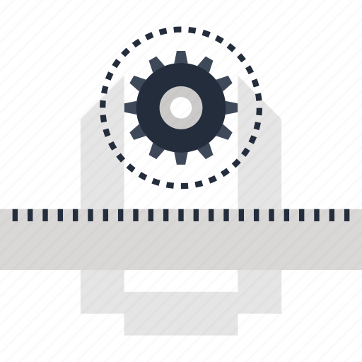 calipers, development, engineering, instrument, measurement, ruler, tool icon