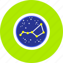 astrology, astronomy, cosmos, creative, planet, sign, zodiac icon