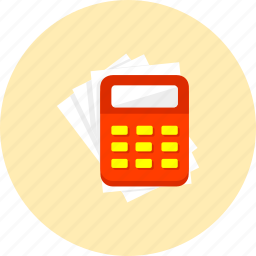 business, calculator, dollar, ecommerce, finance, money, payment icon