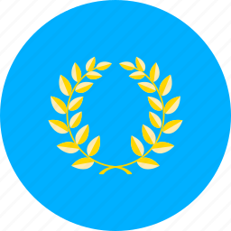 circle, country, culture, flag, heritage, national, state icon