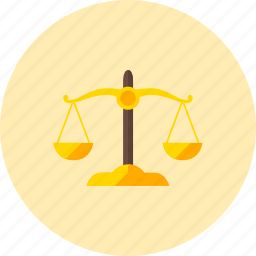 balance, jurisprudence, law, legal, libra, scale icon