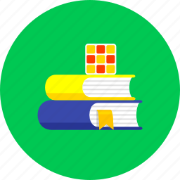 books, education, knowledge, library, read, student, study icon
