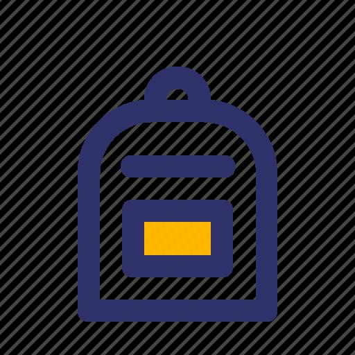 Bag, education, elements, line icon - Download on Iconfinder