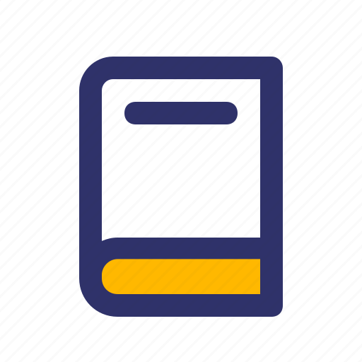 Book, education, elements, line icon - Download on Iconfinder