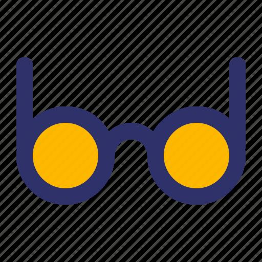 Education, elements, eyeglasses, line icon - Download on Iconfinder