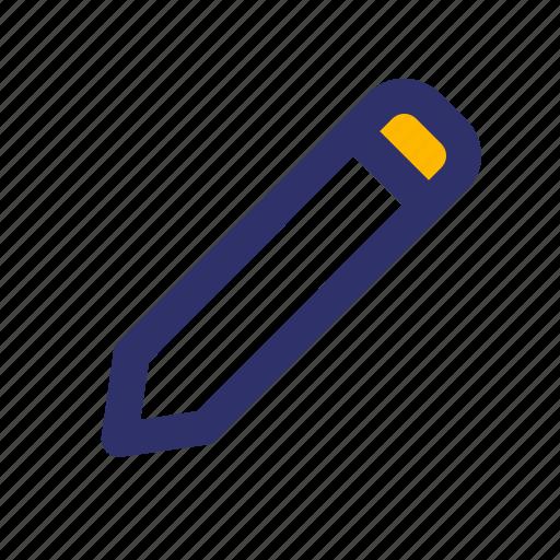 Education, elements, line, pen icon - Download on Iconfinder