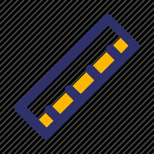Education, elements, line, ruler icon - Download on Iconfinder