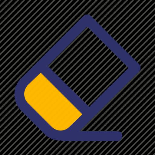 Education, elements, eraser, line icon - Download on Iconfinder