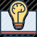 knowledge, education, learn, fundamental, elemental, starting, basic knowledge icon