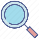 magnifying, glass, search, zoom, magnifier