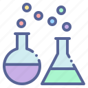 research, lab, flask, conical, erlenmeyer, beaker icon