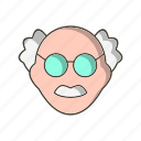 avatar, male, scientist, teacher icon
