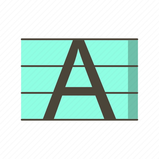 capital, letter, uppercase icon