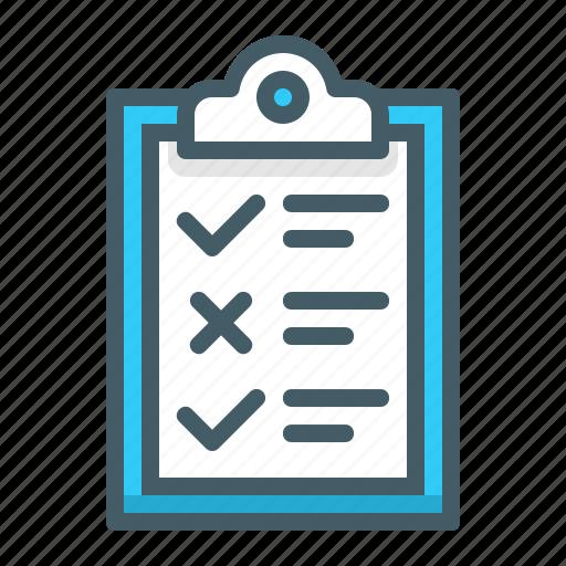 exam, examination, paper, test icon