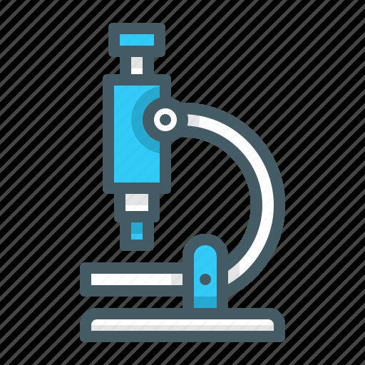 laboratory, microscope, research, science icon