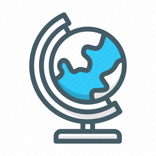 earth, geopraphy, globe, world icon
