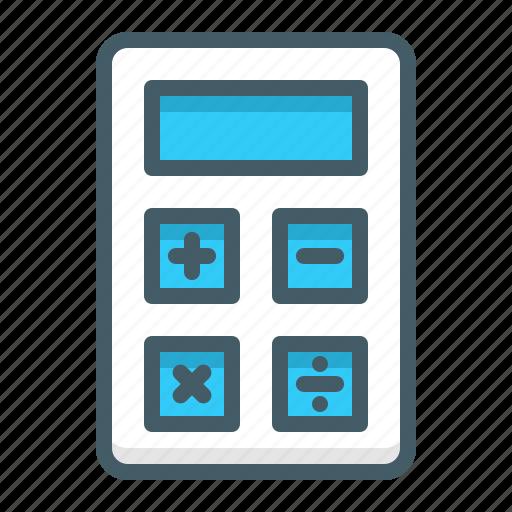 accounting, calculator, finance, mathematics icon
