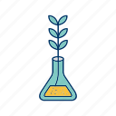 experiment, growth, plant icon