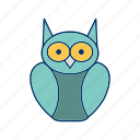 degree owl, graduation, owl icon