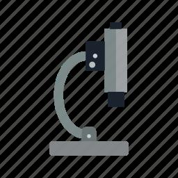 equipment, experiment, laboratory, microscope icon