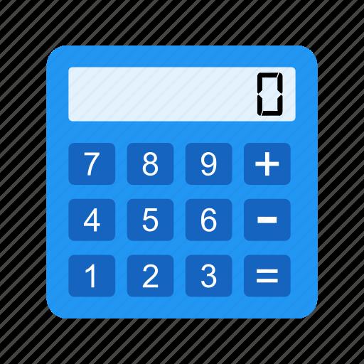 calculation, calculator, device, digital, mathematics icon