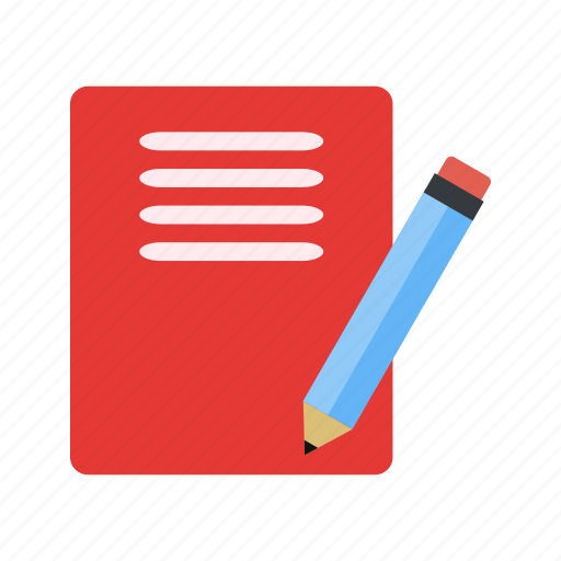 document, notes, paper icon