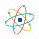 atom, molecule, nuclear, science, structure icon
