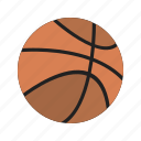 ball, basketball, game