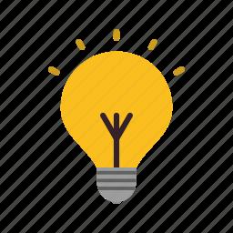 bulb, creative, energy, idea, lightbulb icon